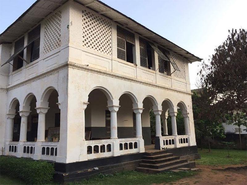 Ehemaliges Ärztehaus in Kpalime
