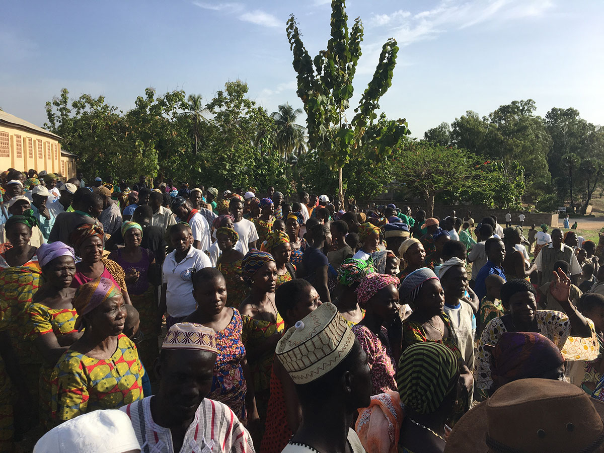 Im Aimes Afrique-Dorf Djamdé