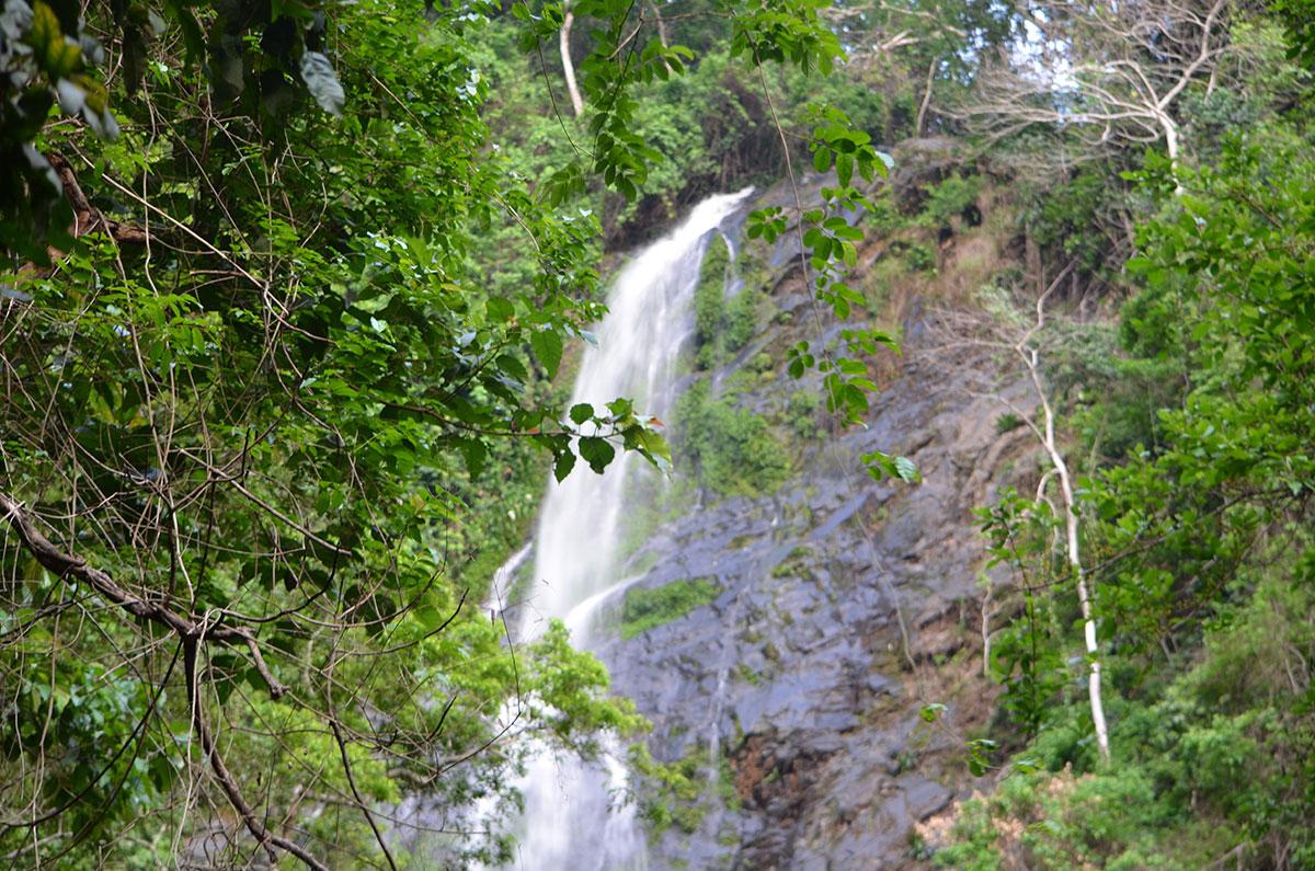 Der große Wasserall von Tomegbe