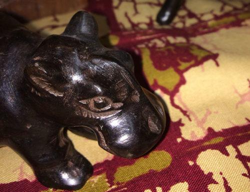 Serviettenhalter - Nilpferd