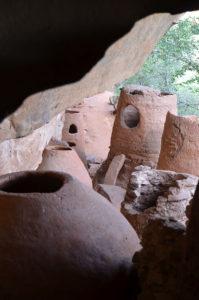 Ein Teil der Grotten von Nok