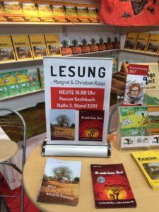 Erste Lesung die wir an der Leipziger Buchmesse durchführen.
