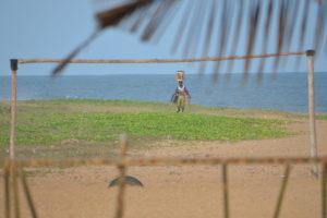Am Strand von Togo